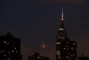 Lunar Eclipse 10/8/14 NYC