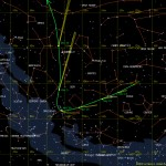 Comet ISON projected path